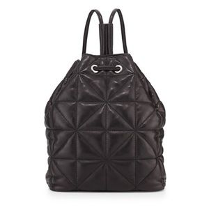 Milly Avery Quilted Leather Backpack Purse